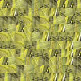Abstract grunge yellow texture fractal patterns Royalty Free Stock Photos