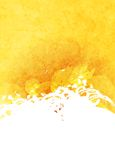 Abstract grunge yellow and white background Stock Photos