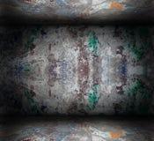 Abstract grungebinnenland Royalty-vrije Stock Foto