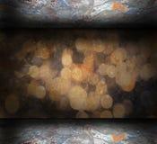 Abstract grungebinnenland Royalty-vrije Stock Fotografie
