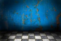 Abstract grungebinnenland Stock Afbeelding