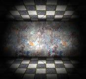 Abstract grungebinnenland Royalty-vrije Stock Afbeeldingen