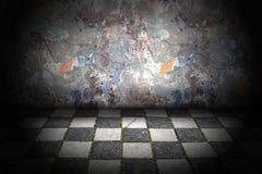 Abstract grungebinnenland Royalty-vrije Stock Foto's