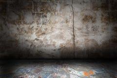 Abstract grungebinnenland Stock Foto