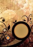 Abstract grungeontwerp als achtergrond Royalty-vrije Stock Afbeelding