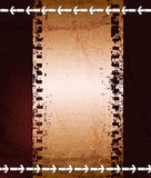 Abstract grungy background. Grungy background with filmstrip. Eps10 layered  file Royalty Free Stock Photos