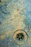 Abstract grungy dirty paint sink Royalty Free Stock Images