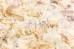 Abstract grungy hand painted textured canvas with brushstrokes Stock Image
