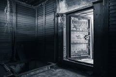 Abstract grungy industrieel binnenland Royalty-vrije Stock Foto
