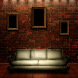 Abstract grungy interior Royalty Free Stock Images
