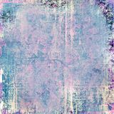 Abstract grungy ornaments background Royalty Free Stock Photography