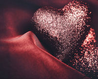 Abstract grungy Valentines backgrounds Royalty Free Stock Images