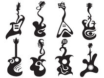 Abstract guitar Royalty Free Stock Image