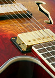 Abstract guitar close up stock images