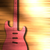 Abstract guitar texture background Royalty Free Stock Photo
