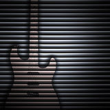 Abstract guitar texture background Royalty Free Stock Image