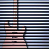 Abstract guitar texture background Stock Photo