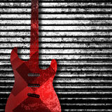 Abstract guitar texture background Royalty Free Stock Photos