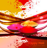 Abstract gulal background for holi colorful wave f Stock Photos
