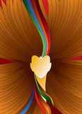 Abstract hair. Abstract of colorfull hair, vector is available Royalty Free Stock Photography