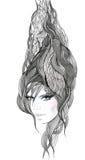 Abstract hair Royalty Free Stock Image