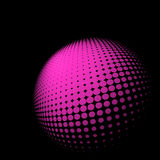 Abstract halftone abstract background. EPS 8 Stock Image