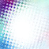 Abstract halftone background. With light pastel colors Stock Images