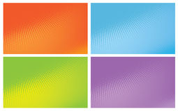 Abstract halftone  background Stock Images