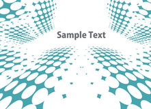 Abstract halftone background Stock Image