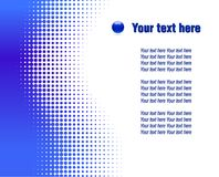 Abstract halftone background. Royalty Free Stock Images