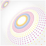 Abstract Halftone Background, halftone circle shape. Stock Photography