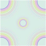 Abstract Halftone Background, halftone circle shape Stock Photography