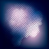 Abstract halftone background. Stock Stock Photo