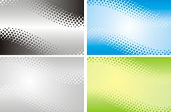 Abstract halftone background in vector Stock Photography