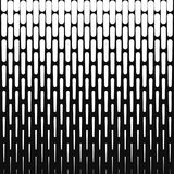 Abstract halftone background from vertical lines. Vector graphic for design Royalty Free Stock Photos