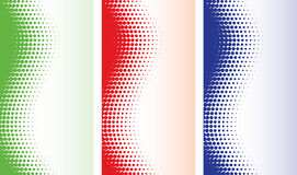 Abstract halftone backgrounds Stock Photo