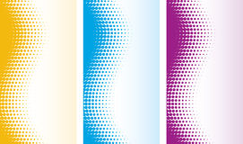 Abstract halftone backgrounds Stock Photos