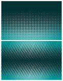 Abstract halftone backgrounds Stock Photography