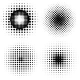 Abstract Halftone backgrounds Royalty Free Stock Photo