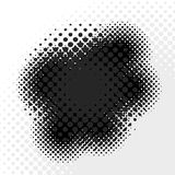 Abstract Halftone Badge Stock Images