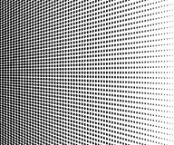 Abstract halftone. Black dots on white background. Vector stock illustration