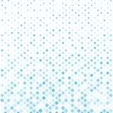 Abstract halftone blue square pattern background, Vector modern. Futuristic texture for posters, sites, cover, business cards, postcards, interior design Stock Image
