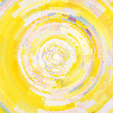 Abstract halftone circle background vector Royalty Free Stock Images