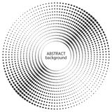 Abstract halftone circle dots texture. Stock Image