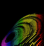 Abstract halftone colorful background. For creative design tasks Stock Photos