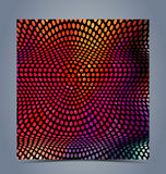Abstract halftone colorful background. For creative design work Royalty Free Stock Images
