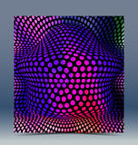 Abstract halftone colorful background. For creative design work Royalty Free Stock Photo