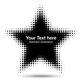 Abstract Halftone Design Element. Vector illustration for your design royalty free illustration