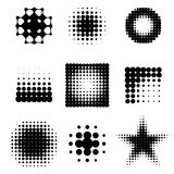 Abstract halftone Royalty Free Stock Image