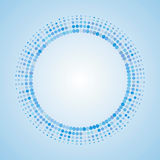 Abstract Halftone dot Logo Design Element background illustration Stock Image